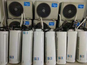重庆回收二手空调,嵌入式空调,商超冷风机制冷设备